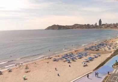Poniente Beach Looking To La Cala
